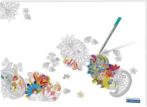 Schreibunterlage Noris Colour