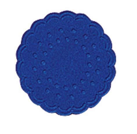 Untersetzer 8cm dunkelblau 25 Stück