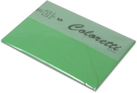 #5xBriefumschlag Coloretti C6 5Er Pack Hellgrün