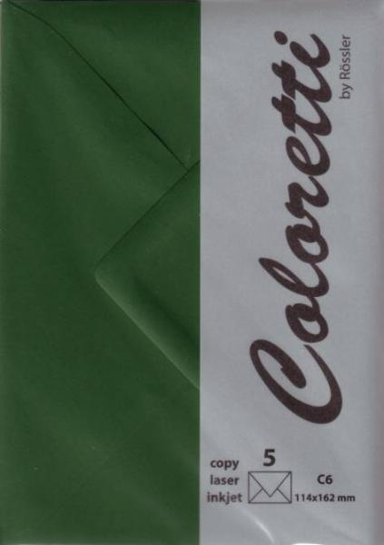 #5xBriefumschlag Coloretti C6 5Er Pack Forest