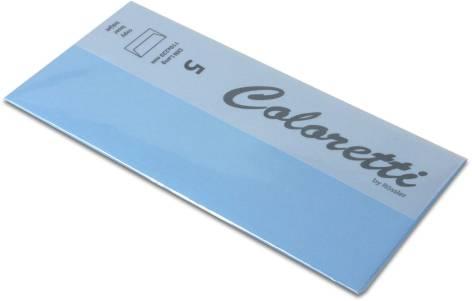 #5xBriefumschlag Coloretti DIN Lang 5Er Pack Himmelblau