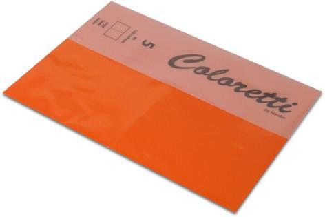 Karte B6 225G Hd Plano 5Er Pack Coloretti Apfelsine