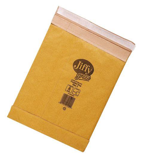 Jiffy-Tasche Grösse 2 Innenmass 195x280mm braun 413327-3...