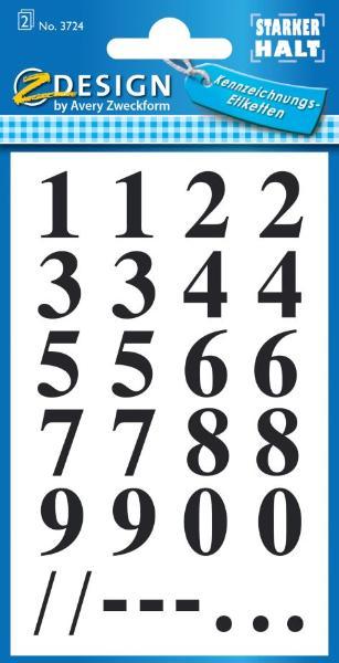 AVERY Zweckform Z-Design Zahlen-Sticker