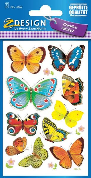 AVERY Zweckform Z-Design Sticker Schmetterlinge