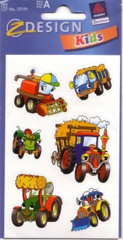 AVERY Zweckform Z-Design Kids Sticker Traktor