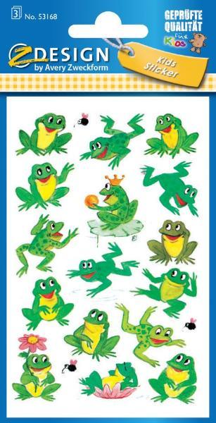 AVERY Zweckform ZDesign Sticker KIDS Frösche