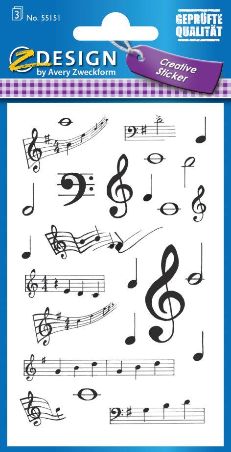 AVERY Zweckform Z-Design Creative Sticker Noten