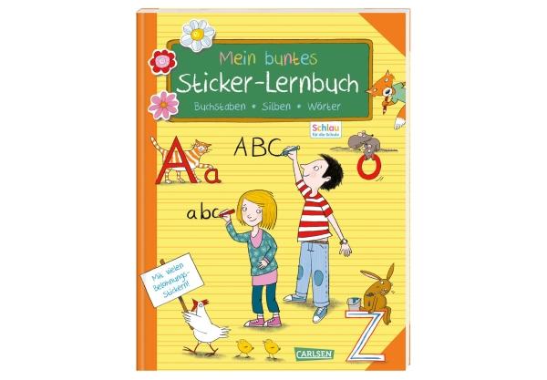 Schlau für die Schule: Mein buntes Sticker-Lernbuch: Buc...
