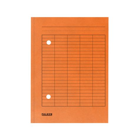 Umlaufmappe A4 250g Manila RC Karton orange