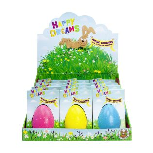 #12xHAPPY DREAMS Magic Growing Egg sort.