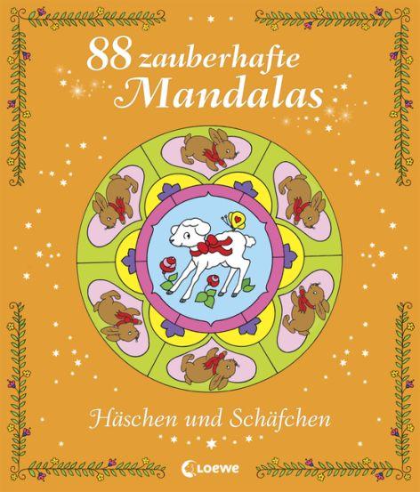 88 Mandalas: Häschen und Schäfchen