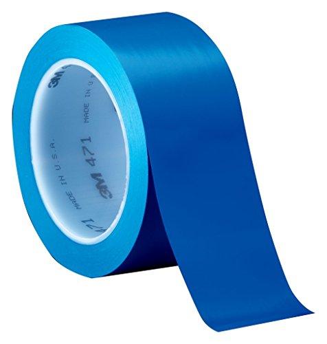 3M Weich-PVC-Klebeband 471F, 19 mm x 33 m, blau
