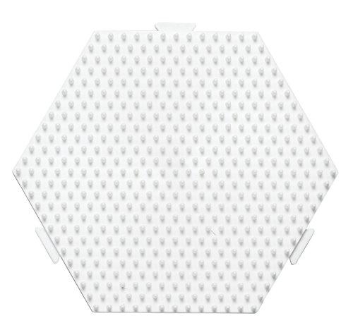 Hama Stiftplatte Sechseck, weiß