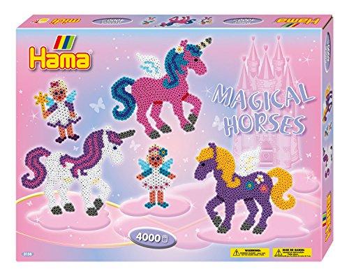 Hama Bügelperlen midi Zauberhafte Pferde, Geschenkpackung