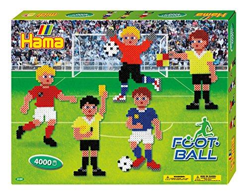 Hama Bügelperlen midi Fußball, Geschenkpackung
