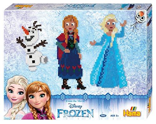 Hama Bügelperlen midi Frozen, Geschenkpackung