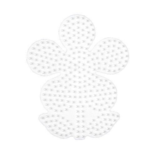 Hama Stiftplatte Blume, weiß