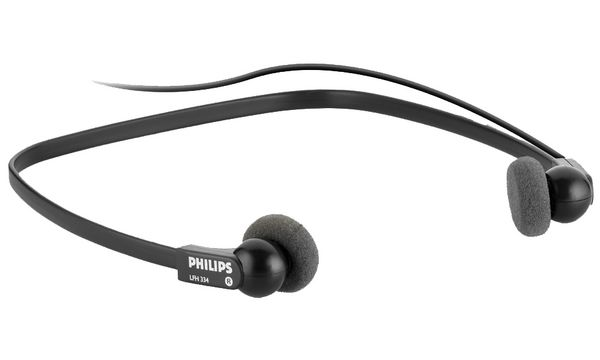 PHILIPS Stereo-Unterkinn-Kopfhörer LFH0334