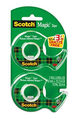 Scotch Handabroller Magic, transparent, bestückt