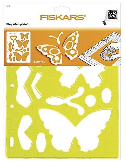 FISKARS Motivschablone ShapeCutter Schmetterling