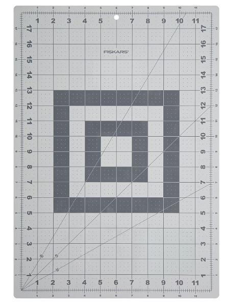 FISKARS Schneidematte, DIN A3, (B)450 x (T)300 x (H)2 mm