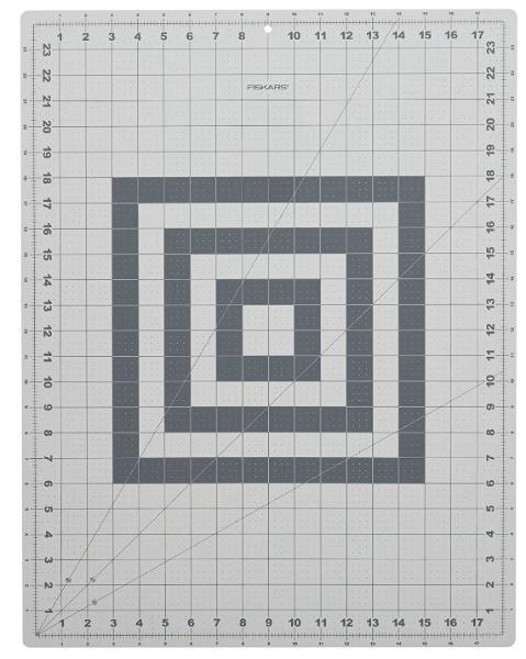 FISKARS Schneidematte, DIN A2, (B)600 x (T)450 x (H)2 mm