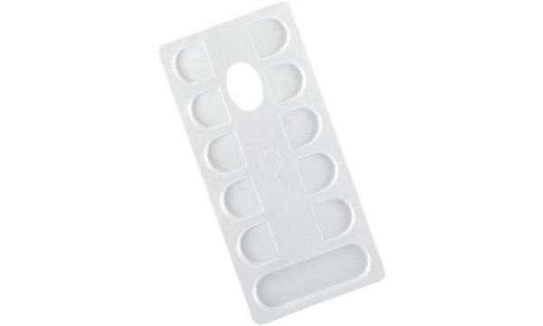 LEFRANC & BOURGEOIS Farbmisch-Palette, rechteckig, weiß