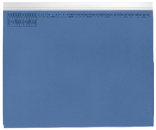 Hängehefter Linksheftung blau   9040122