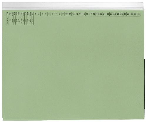 Hängehefter Linksheftung grün   9040123
