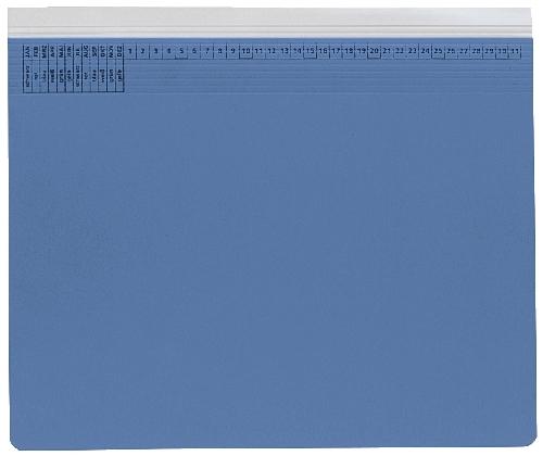 Hängehefter Rechtsheftung blau   9040129
