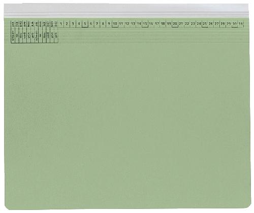 Hängehefter Rechtsheftung grün   9040130