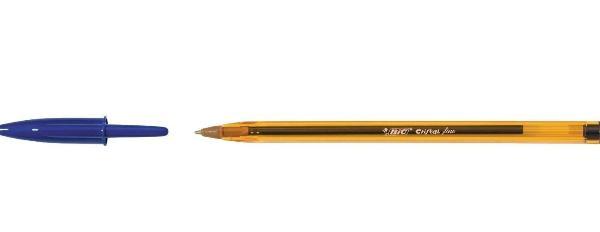 BIC Kugelschreiber Cristal Fine, Strichfarbe: blau