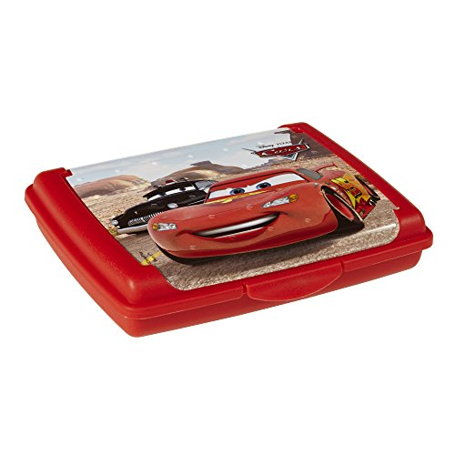 keeeper kids Brotdose olek Cars, mini, cherry-red