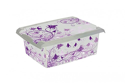 keeeper Deko-Aufbewahrungsbox agneta purple romance, 10 L