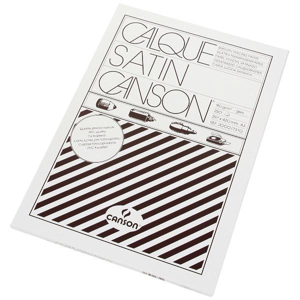 #100xCANSON Zeichenpapier, DIN A3, hochtransparent, 110/...
