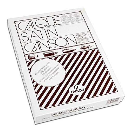 CANSON Zeichenpapier, DIN A4, hochtransparent, 90/95 g/qm