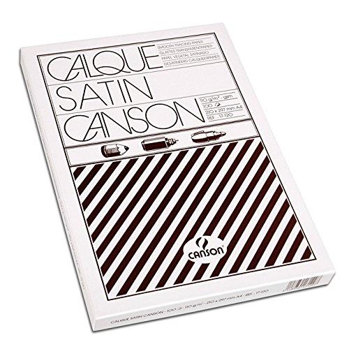 CANSON Zeichenpapier, DIN A4, hochtransparent, 110/115 g/qm
