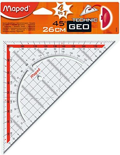 Maped Geodreieck Technic, Hypotenuse: 260 mm