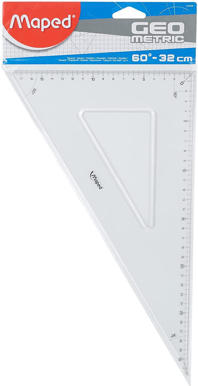 Maped Zeichendreieck Geometric 60 Grad,Kathetenlänge: 32...