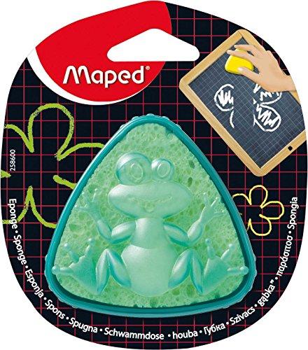 Maped Tafelschwamm, in Schwammdose Frosch, dreieckig, ...