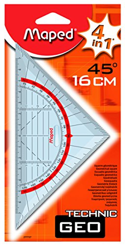 Maped Geodreieck Technic, Hypotenuse: 160 mm