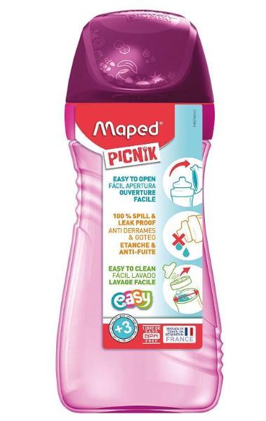 Maped PICNIK Trinkflasche ORIGINS, pink, 0,43 l