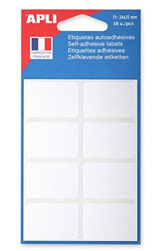 agipa Vielzweck-Etiketten, 24 x 35 mm, weiß