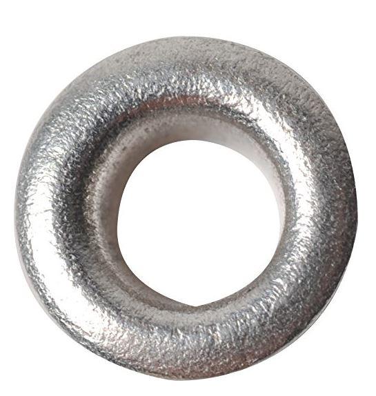 FISKARS Ösen, rund, Größe: 4,8 mm, silber