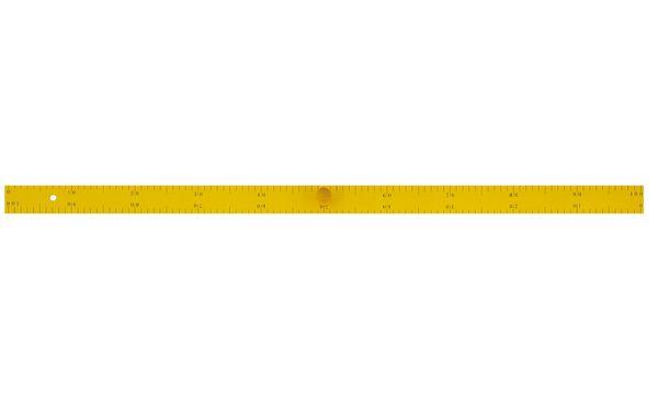 JPC Tafel-Lineal, Länge: 1 m, aus Holz, magnethaftend