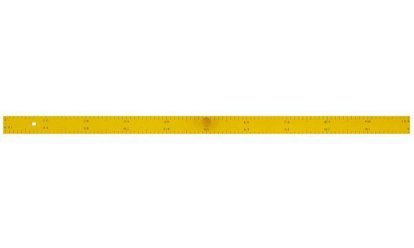 JPC Tafel-Lineal, Länge: 1 m, aus Holz