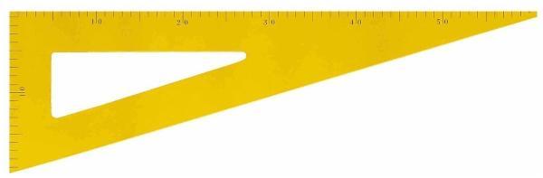 JPC Tafel-Zeichendreieck, 60 Grad, aus Holz, magnethaftend