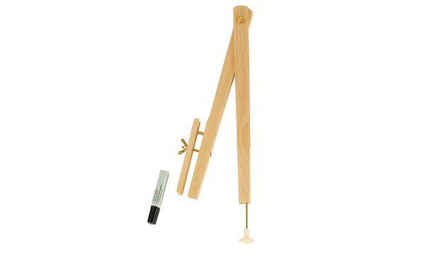 JPC Tafel-Zirkel, für Whiteboard-Marker, aus Holz