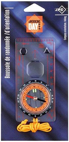 JPC Kompass mit Lineal, mit transparentem Boden
